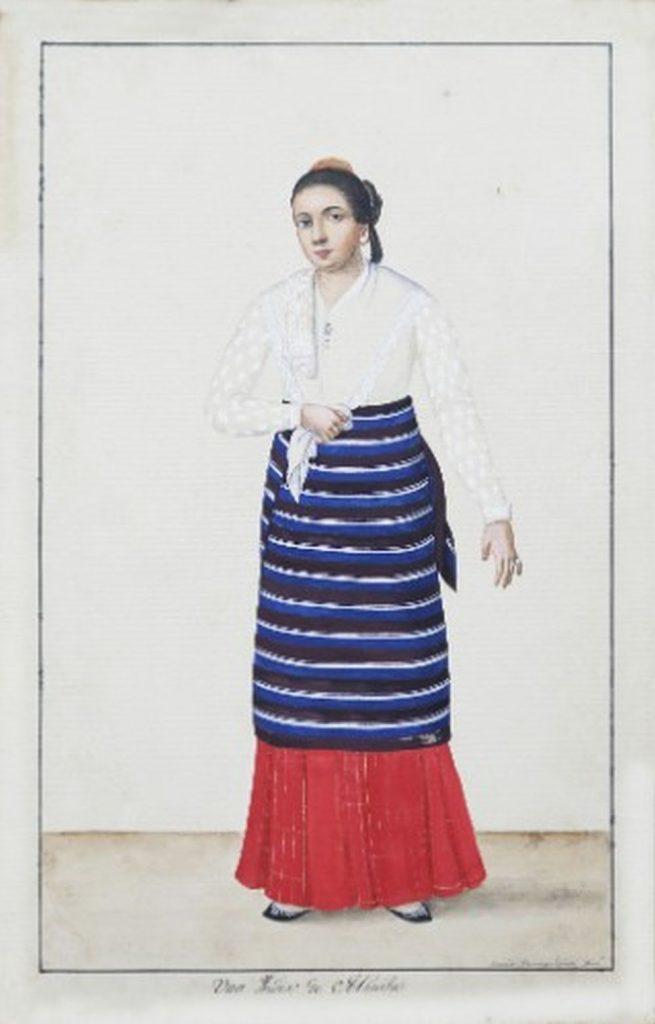 Spanish Portrait of Filipino